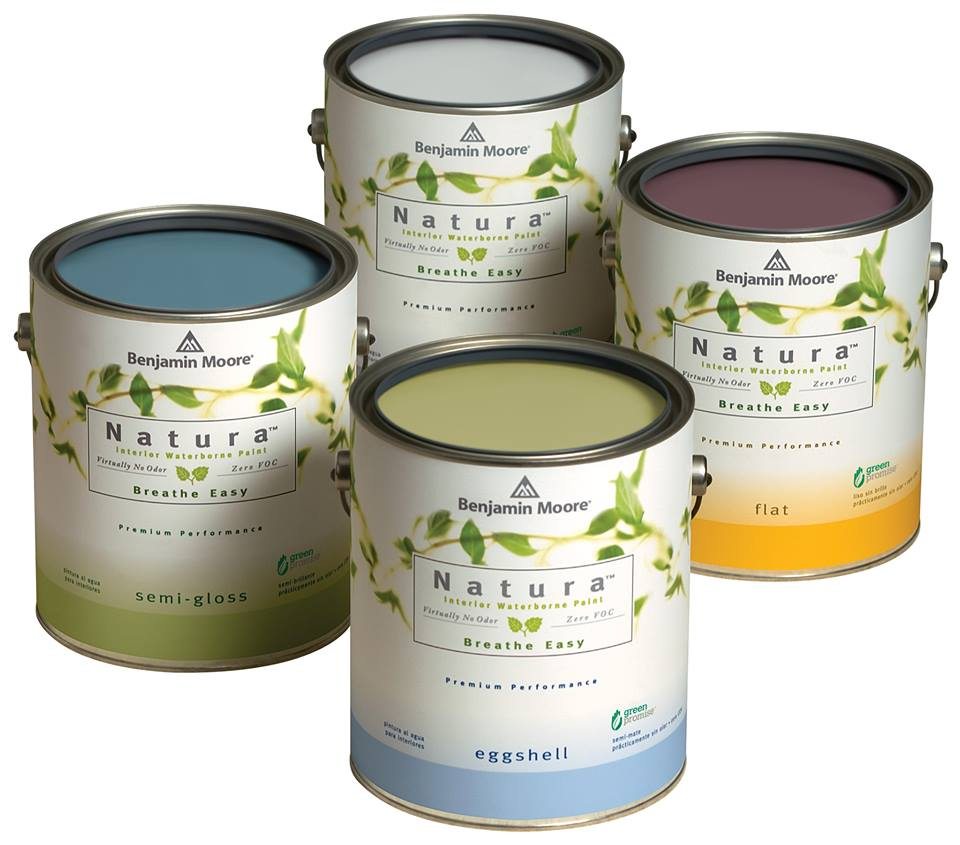 Low Voc Interior Paint: Pintura Sin Olor