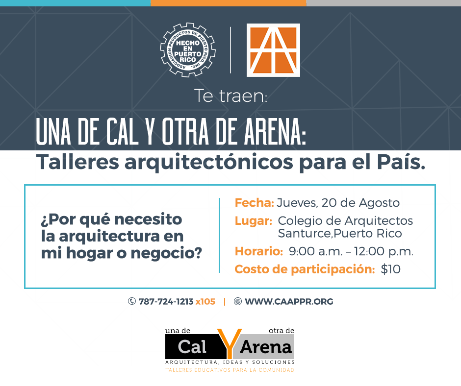 Col. arq. cal y arena